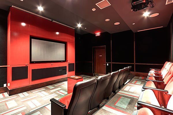 120 Homewood Ave Theatre Room - Short Term Apartments Toronto
